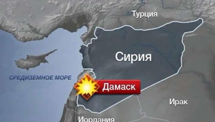 МИД России считает, что посольство в Дамаске обстреляно намеренно