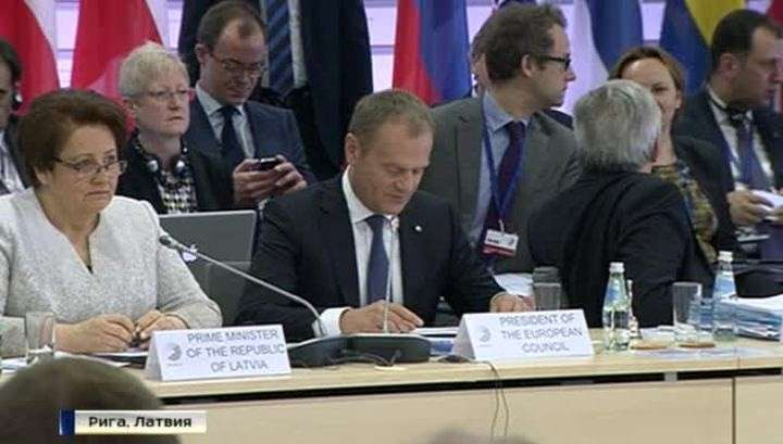 Бандит Порошенко раскритиковал «Восточное партнёрство»