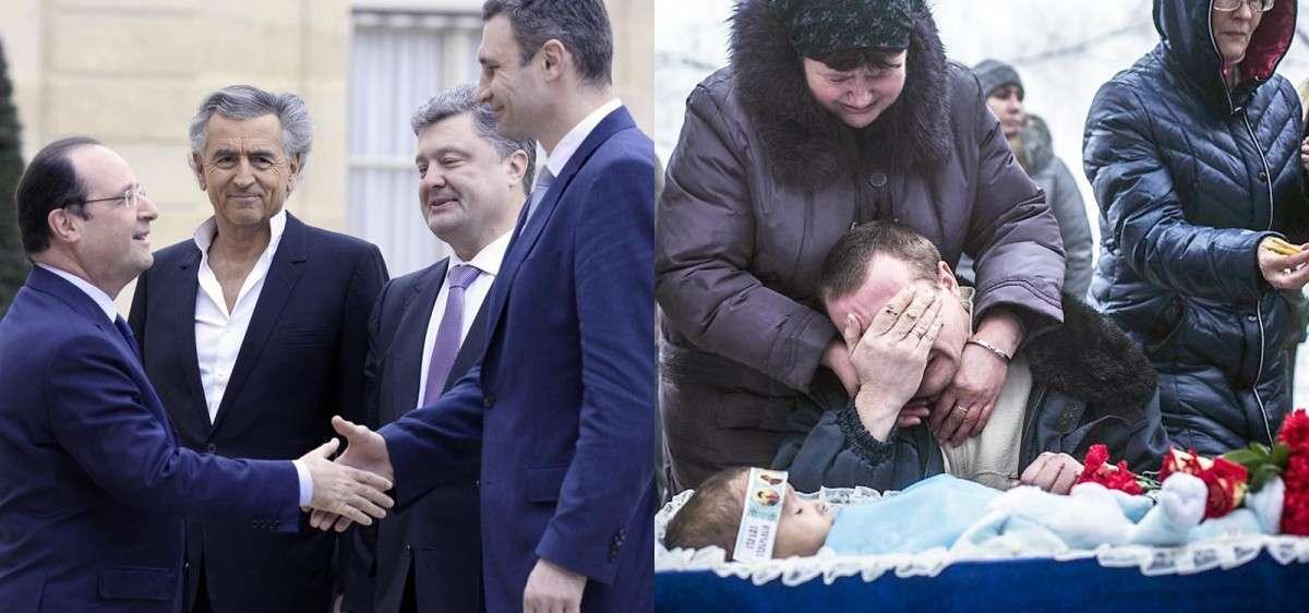 Я был в Донецке, и я обвиняю правительство Франции