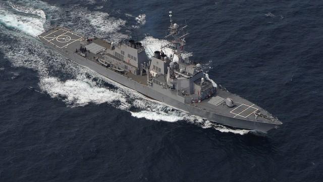 Незваный эсминец НАТО - хуже татарина