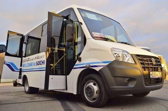 автобус «ГАЗель NEXT» на Олимпийских Играх в Сочи