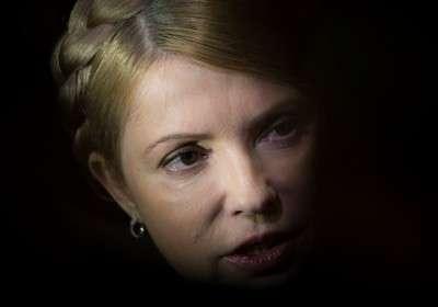 Юлька Тимошенко решительно играет в свою игру