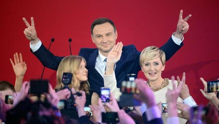 В Польше теперь новый Президент - Анджей Дуда
