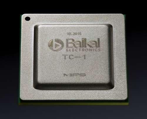 Представлен первый 28-нм российский процессор «Байкал-Т1»