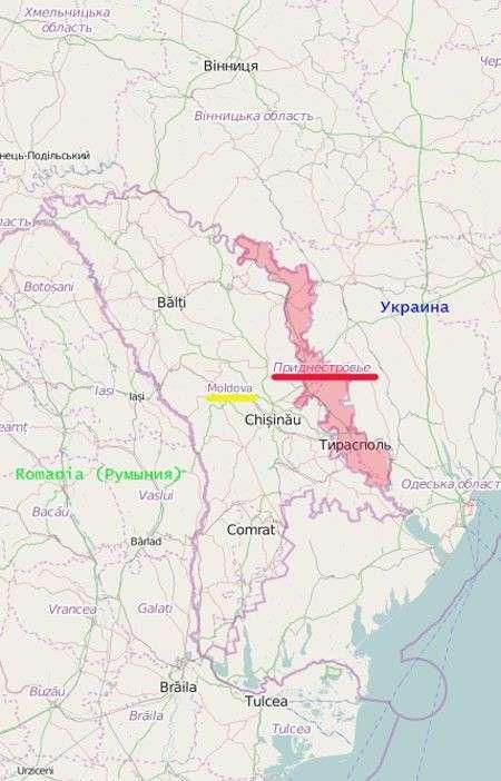 О блокаде российских миротворцев в Приднестровье