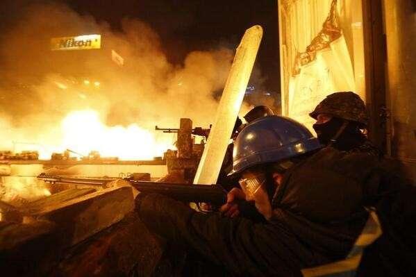 Штурм евромайдана - зачистка Киева от грязи (прямая трансляция)
