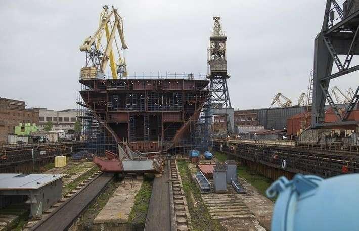 На Балтийском заводе заложен атомный двухосадочный ледокол «Сибирь»