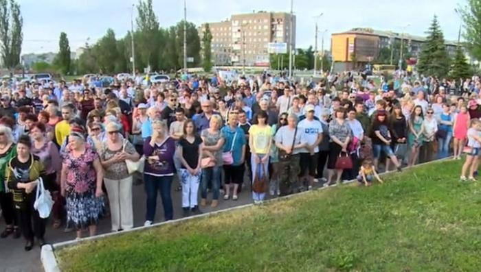 Комбрига Алексея Мозгового похоронили в Алчевске