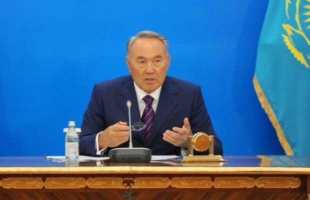 Нурсултан Назарбаев дал интервью телеканалу «Россия 24»