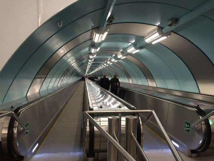 В Санкт-Петербурге открылся второй выход станции метро «Спортивная»