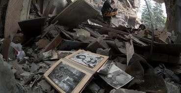 Еврейская Хунта Украины намеренно убивала мирных жителей Горловки
