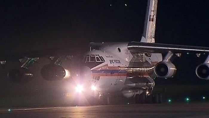 Самолёт МЧС доставил из Сирии в Москву 80 граждан РФ и стран СНГ