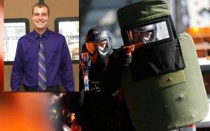 Полиции США поспешила на помощь самоубийце, и, как водится, застрелила