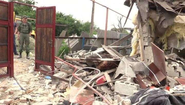 Укро-Хунта продолжает обстрел населённых пунктов в ДНР