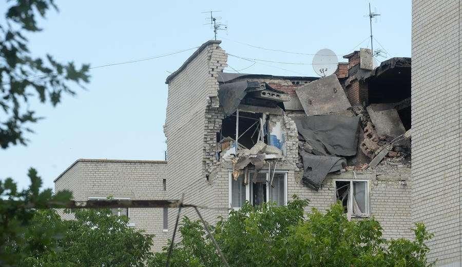 Украинская Хунта начала обстрелы по всей линии фронта