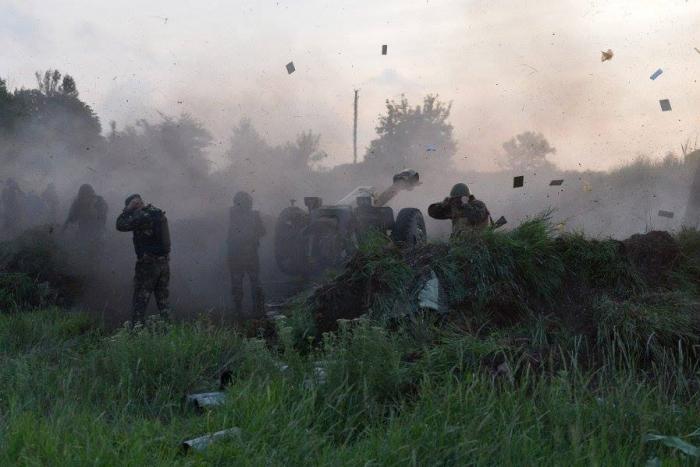 Ополчение Донбасса наступает. Хунта несёт колоссальные потери