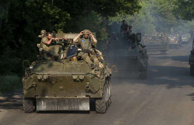 Киев вернул практически всё тяжёлое вооружение на передовую
