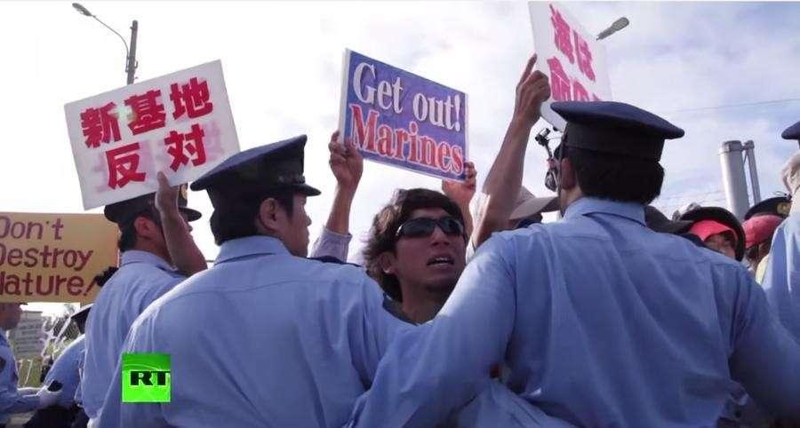 Пиндосия расширит военную базу на Окинаве