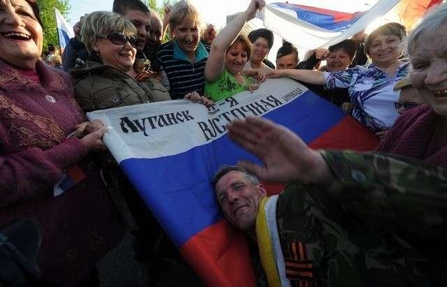 Новая Россия рождается в Новороссии