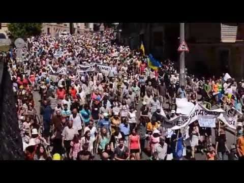 Массовая акция протеста против Порошенко в Киеве