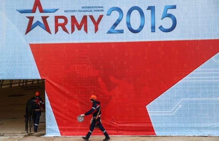 Владимир Путин посетит военно-технический форум «Армия-2015»