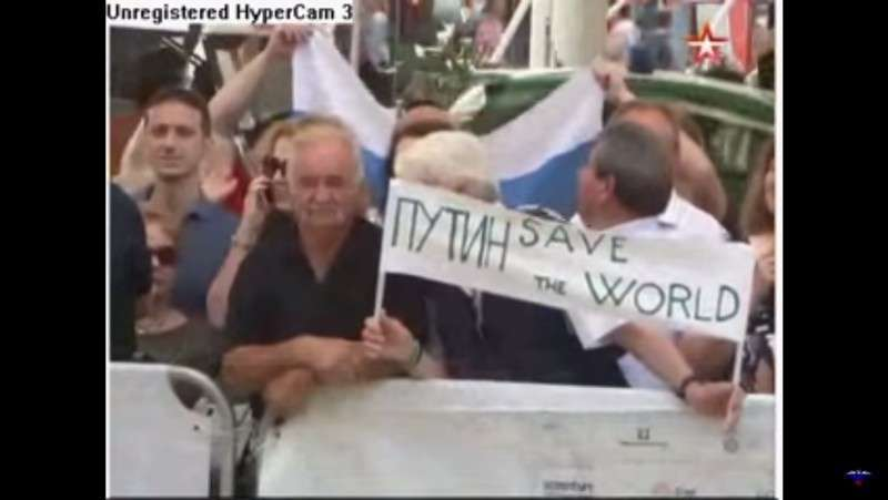 Итальянцы просят Владимира Путина спасти Мир