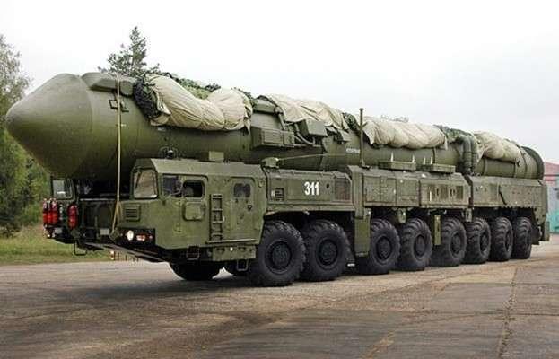 Минобороны РФ - Небольшой сбой курса российской ракеты РС-24 ЯРС
