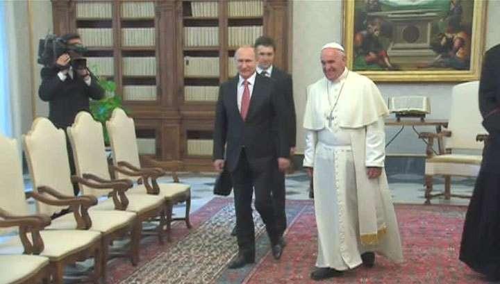 Владимир Путин поговорил с Италией