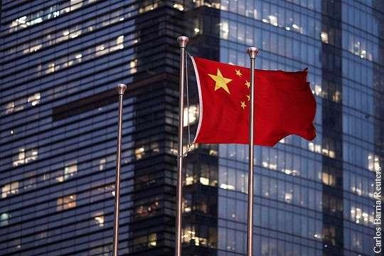 КНР с ее населением и нехваткой ресурсов мировая торговля просто необходима для выживания