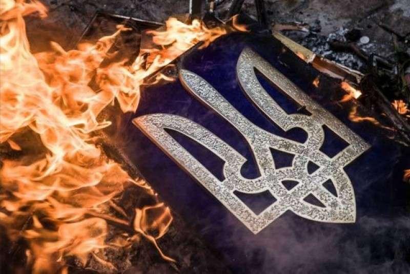 В Киеве загорелся Труханов остров