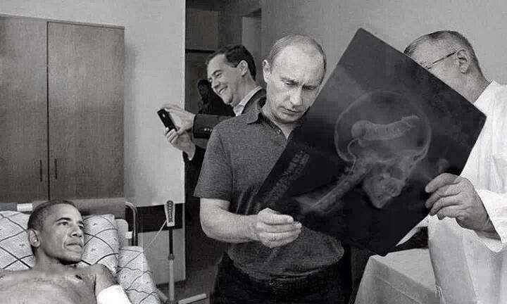 Обама болен на голову, его нужно посадить за решётку...