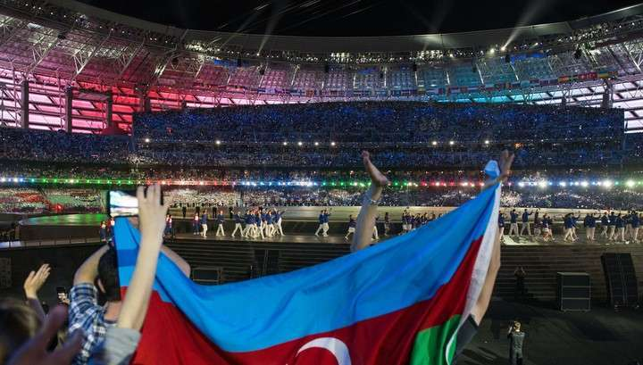 Алиев открыл первые Евроигры