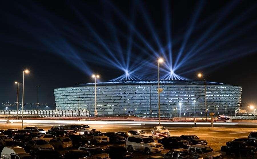 Владимир Путин приехал на открытие Европейских игр в Баку