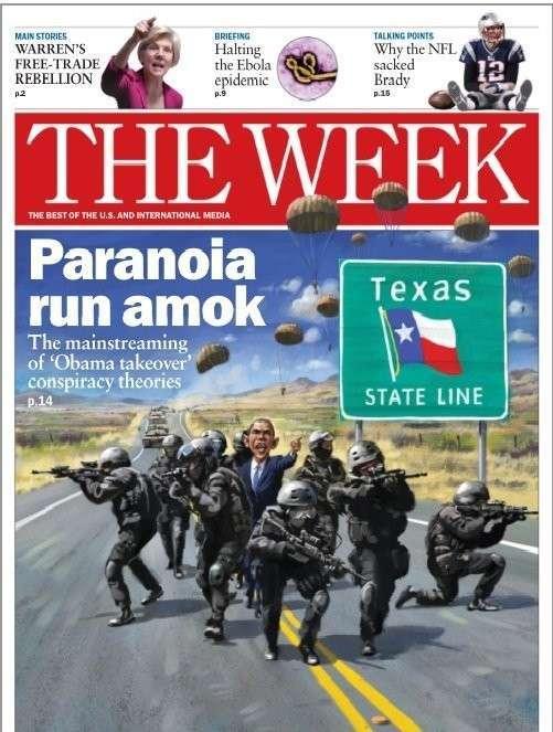 Обама «захватит Техас», или Поговорим о рептилиях
