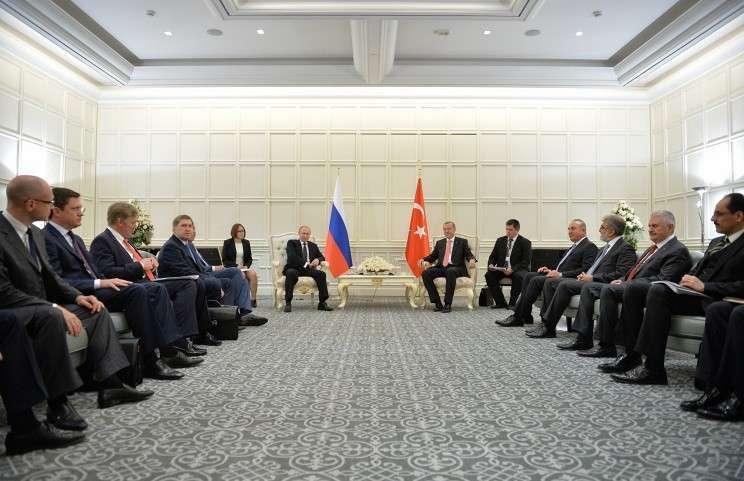 Путин и Эрдоган обсудили «Турецкий поток», строительство АЭС «Аккую» и Украину