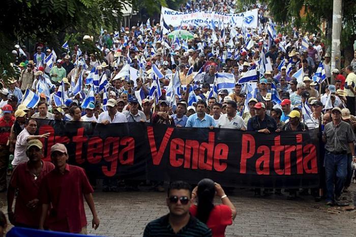 В Никарагуа янки организовывают новый «майдан»