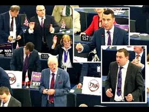 В Европарламенте скандал из-за Договора о зоне свободной торговли с США - TTIP