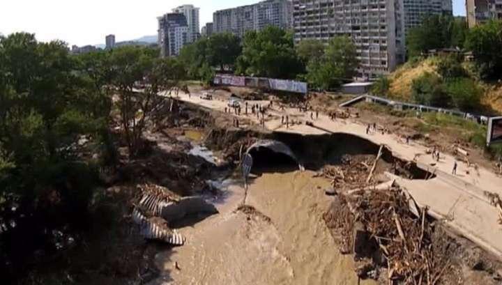 Число жертв наводнения в Грузии продолжает расти
