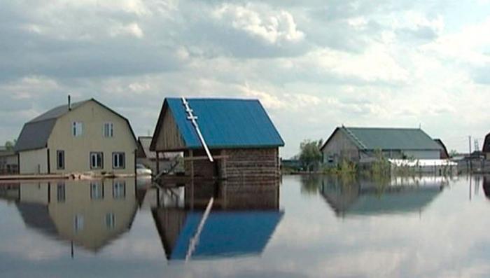 В Югре опять паводок - ждут пика
