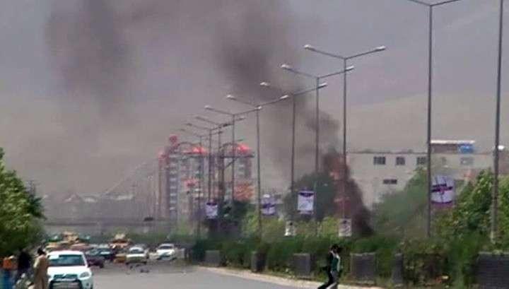 Талибы атаковали в Кабуле парламент Афганистана