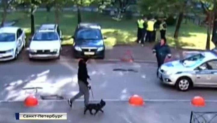 Питерские полицаи всемером избили водителя-нарушителя ПДД