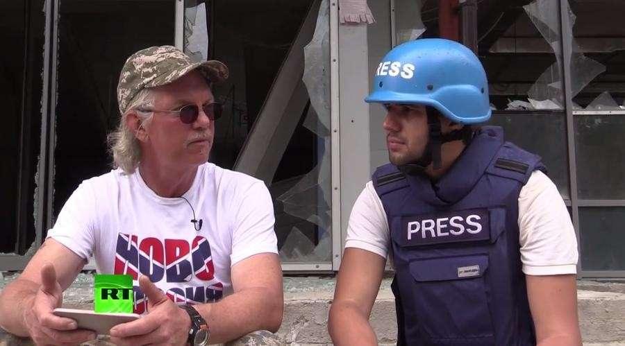 Американец сражается плечом к плечу с ополченцами ДНР