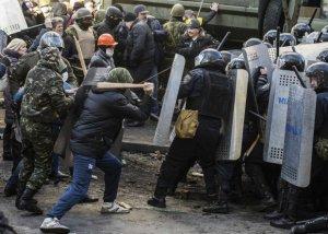 Кровавое противостояние на Майдане Незалежности. Видео и текстовая онлайн-трансляция