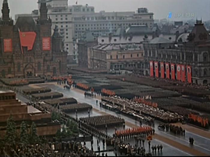 В Москве отмечают 70-летие Парада Победы