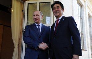 Владимир Путин и Синдзо Абэ договорились тщательно проработать визит Президента РФ в Японию
