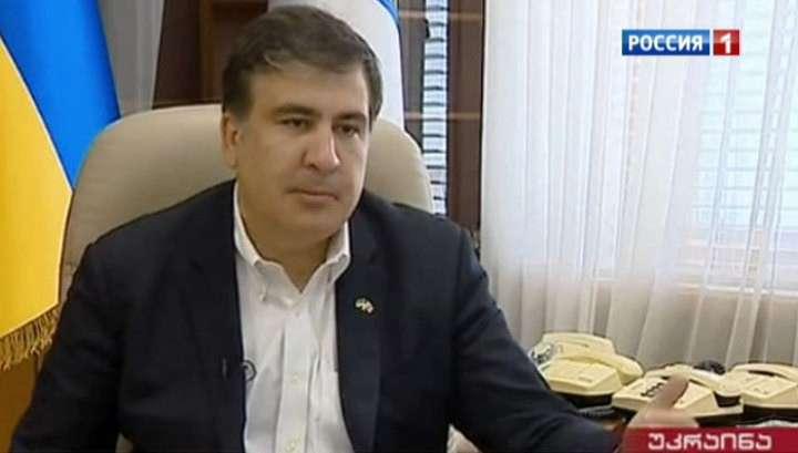 Грузинский клоун Саакашвили получает в Одессе зарплату из США