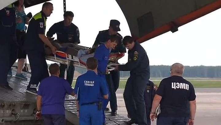МЧС России вывезет из Донбасса ещё одну группу больных детей