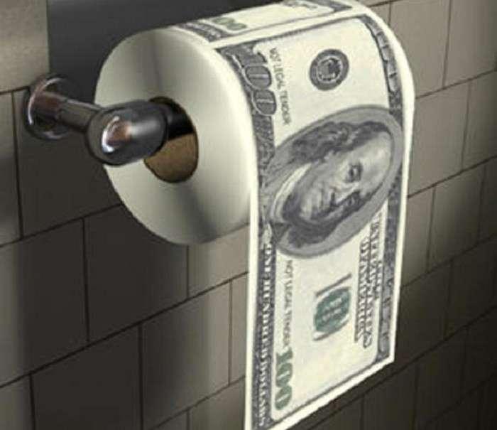 Теперь российская туалетная бумага против санкций!