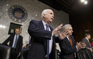 Старина Маккейн бьётся в истерике из-за российских ракетных двигателей РД-180