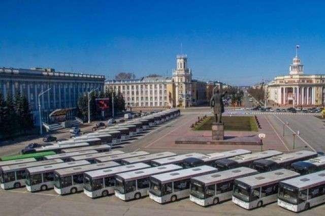 В Кузбассе появились новые автобусы «МАЗ»